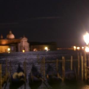 Embarcadero de San Marcos al anochecer