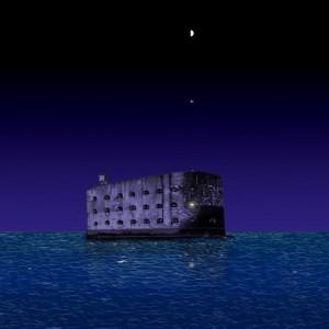 Cárcel - Ilustración de Sete Goytre